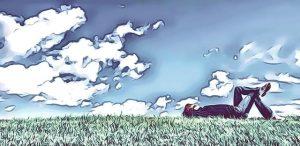 Am Tag als Conny Cramer starb - Wiese mit Gras