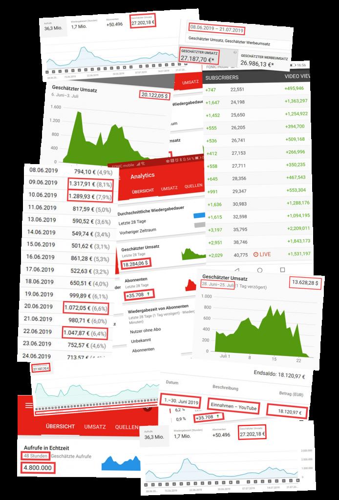 Wie viel Geld man mit YouTube verdienen kann